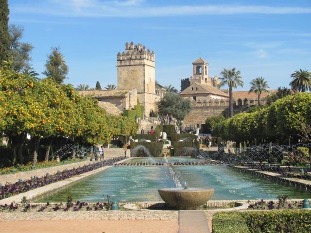 Alcazar-de-los-Reyes-Cristianos-Cordoba-Espanha