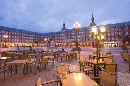 Madrid's historic square the Plaza Mayor