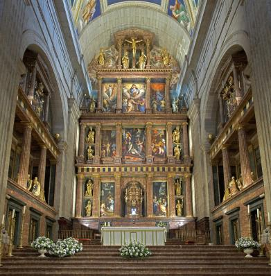 Country: Spain Site: El Escorial Monastery Caption: Altar, post-conservation Image Date: 2009 Photographer: Ildefonso Lopez/World Monuments Fund Provenance: 2008 Wilson Final Project Report Original: from CD ESP024