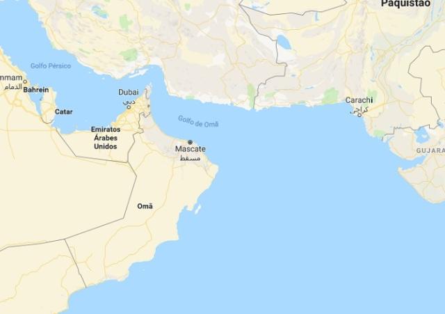 Mapa-Golfo-de-Oman